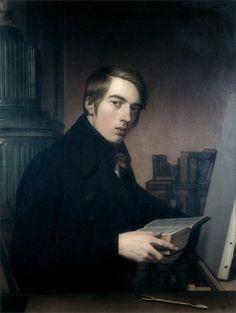 Friedrich Overbeck · Autoritratto · 1808 · Behnhaus · Lübeck