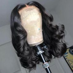 What Lace!! Swiss HD Transparent Rihanna Style Lace Frontal Loose Wave Wig - 26 Inch / 180% / Large 23 Inch