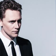 Tom Hiddleston by Greg Williams. Via Twitter.