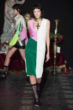 Fausto Puglisi Milano - Spring Summer 2017 Ready-To-Wear - Shows - Vogue.it