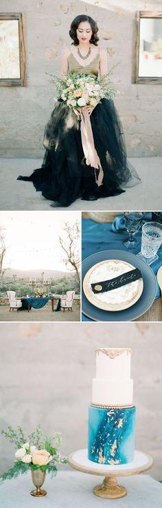 Elegant + Modern Desert Wedding Inspiration