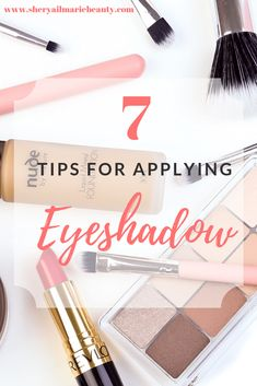 7 Tips For Applying Eyeshadow: Life changing Blending Eyeshadow, How To Apply Eyeshadow, Applying Eyeshadow, How To Apply Makeup, Eyeshadow Makeup, Eyeshadows, Makeup Blog, Diy Makeup, Makeup Tools