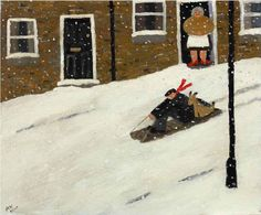 gary bunt(1957- ), the great escape. oil on canvas, 22 x 26 ins. portland gallery, london, uk http://www.portlandgallery.com/artist/Gary_Bunt/item/archive/29951/(46)_The_Great_Escape