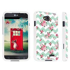 DuroCase ® LG Optimus L70 / LG Optimus Exceed 2 Hard Case White - (Mint Pink Roses Chevron) DuroCase http://www.amazon.com/dp/B00NYT1EL8/ref=cm_sw_r_pi_dp_13j8ub1RHKT5W
