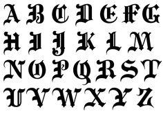 Font Lettering Alphabet Letters Font by 8 Letters Font Images Graffiti Alphabet Gotisches Alphabet, Calligraphy Letters Alphabet, Gothic Alphabet, Tattoo Fonts Alphabet, Graffiti Alphabet, Calligraphy Handwriting, Gothic Lettering, Gothic Fonts, Graffiti Lettering