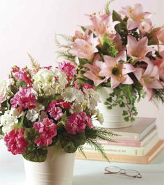 Basic Floral Arrangement   Florals from Joann.com or Jo-Ann Fabric and Craft Stores