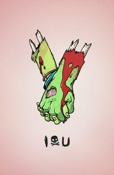 Til Death – Kyle Harlan Zombie Kunst, Arte Zombie, Zombie Art, Zombie Drawings, Art Drawings, Dope Kunst, Desenho Pop Art, Arte Black, Silkscreen