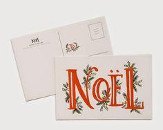Noel Postcards from Rifle Paper Co - framing for seasonal art Christmas Design, Christmas Art, Christmas Holidays, Christmas Booth, Modern Christmas Cards, Christmas Postcards, Christmas Graphics, Christmas Greetings, Christmas Stuff