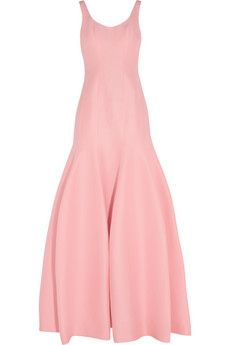 Halston Heritage Cotton and silk-blend faille gown | NET-A-PORTER