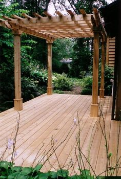 "I have built an arbor in the past and need something fairly easy to replace the cover over our deck now.  I wonder if something like this would provide us the ""cover"" we need to get out of the sun."