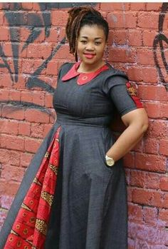 ღ ♡ ♡ ღ ~ Ghanaian fashion ~DKK Latest African Fashion Dresses, African Inspired Fashion, African Dresses For Women, African Print Dresses, African Print Fashion, African Attire, African Wear, African Women, African Prints