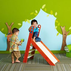 Built for the playroom or the backyard, this playtime slide is destined to be a hit with the little ones.