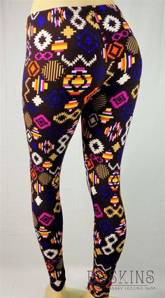 Stay warm with these cute & sassy Atari Fever FLEECE leggings - $20
