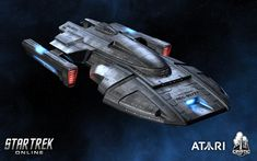 Star Trek: Online's Nimbus-class Tthe ships of STO seem to less and less reflect…