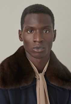 Adonis Bosso shot by Dominik Tarabanski and styled by Anatoli Smith, for the Fall/Winter 2015 issue of 032c magazine.