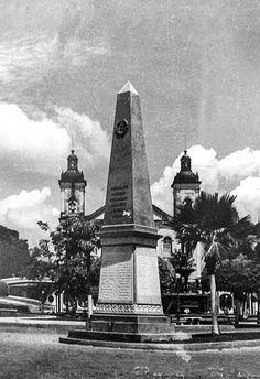 Obelisco, no Centro de Manaus. Acervo: Moacir Andrade.