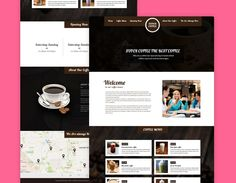 Coffeeco – is a clean and modern looking beautiful template suitable for coffee shop, cafe and small restaurants. You can easily adjusted it to fit use for any type of business. Coffeeco build with responsive design, meaning your new site will adapt to fit any screen size, from desktops down to mobile phones. All features … Buy Coffee Beans, Coffee Shop, Small Restaurants, Free Website Templates, Coffee Menu, Screen Size, Mobile Phones, Shopping, Business