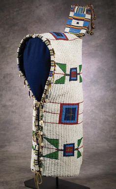 Sioux Beaded Cradle, c 1890