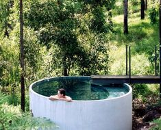 Mount Ninderry House is a sustainable house that takes full advantage of its stunning natural setting without the extra cost. And check out that pool!