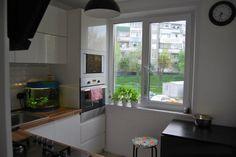 Дизайн угловой белой кухни 6 кв.м (13 фото)