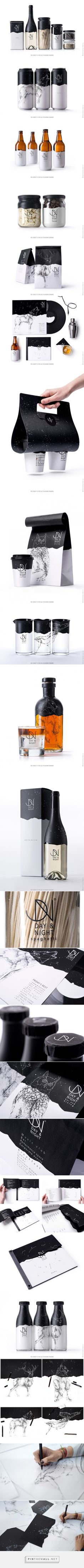Day & Night packaging designed by Backbone Branding (Armenia) - http://www.packagingoftheworld.com/2016/03/day-night.html
