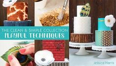 Make birthday cakes that star in memories long after the last slice is gone. Create three fun cake designs with the waxed-paper transfer method and Jessica's no-carve sculpting techniques.