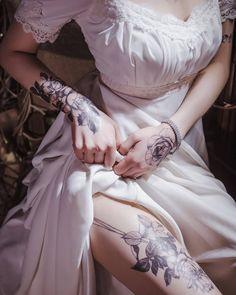 Tattoo Inspiration — electrictattoos:   Zihwa