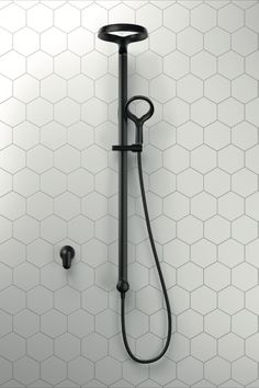 From its distinctive, contemporary look to the ground breaking Aurajet technology, the Methven Aio experience is unlike any other. Hidden nozzles generate individual jets of water that collide against precisely-angled surfaces within Aurajet's halo-shaped shower head. The result is a stunning fan of luxuriously dense droplets delivering 20% more spray force than a conventional shower and twice the amount of water contact with your skin* *Compared to a conventional Methven shower at 9L/m Bathroom Design Luxury, Bathroom Design Small, Bathroom Interior, Bathroom Goals, Bathroom Renos, Bathroom Styling, Bathroom Inspiration, Honeycomb, Black House