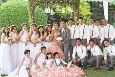 Wedding Entourage, Tagaytay, Bridesmaid Dresses, Wedding Dresses, Wedding Ceremony, Beautiful, Fashion, Bridesmade Dresses, Bride Dresses