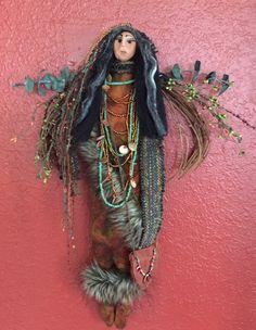 Mahala- my version of Gretchen Limas Medicine Woman Doll workshop