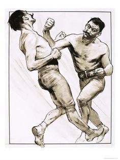The End of an Era, King of the Bare-Knuckle Boxers, 1973 Giclee Print at AllPosters.com