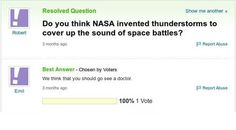 Yahoo Answers never disappoints.