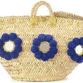 Coup de cœur pour ces sacs en osier tressé, versions modernes du panier de plage, pour se la jouer bohème comme Jane.