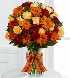The Golden Autumn Bouquet...OK...This one is totally me!!! Simple yet beautiful!!!