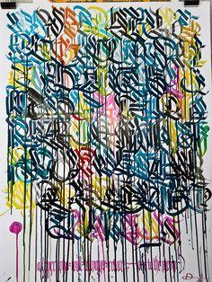 Drury Brennan - Drury Brennan is a schriftkunstler (writing artist) who lives in Berlin, Germany. Say hello if you like at drurypbrennan@gma...