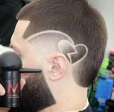 Hot Haircuts, Best Short Haircuts, Hair Designs For Boys, Short Fade Haircut, Undercut Hair Designs, Beard Cuts, Gents Hair Style, Shaved Hair Designs, Faded Hair