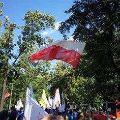 Taka parada #krakow2016 #wyd #wyd2016 #jmjcracovia2016 #jmj2016 #krakow #śdm #igerspoland #lubie_polske