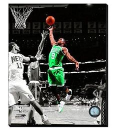Rajon Rondo Canvas Framed Over With 2 Inches Stretcher Bars-Ready To Hang- Awesome & Beautiful