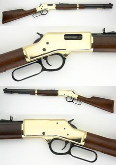 When my son is old enough, he's getting a Henry rifle.