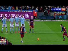 ¡Mira los 5 mejores goles de tiro libre de Lionel Messi con Barcelona!