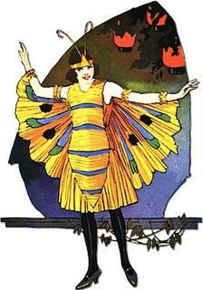 The Autumn Sketch Book of Bess Stanhope October 1925 It's time to start thinking about putting together a Halloween costume. Retro Halloween, Halloween Photos, Holidays Halloween, Halloween Costumes, Paper Halloween, Halloween 2017, Halloween Ideas, Diy Butterfly Costume, Vintage Fall