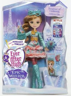 Ever After High Epic Winter Ashlynn Ella doll. Credit: Ever After High dolls on Facebook