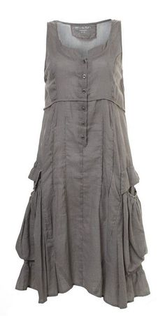 Martine Samoun linen pinafore ebay - Google Search