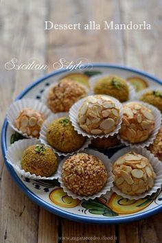 Dessert alla Mandorla Siciliani http://www.zagaraecedro.ifood.it/2015/09/dessert-alla-mandorla-siciliani.html#comment-30528