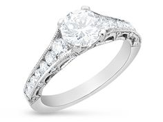 Andrews Jewelers, Buffalo, NY - Tacori Diamond Engagement Ring - HT2510-6.5-1/2xW