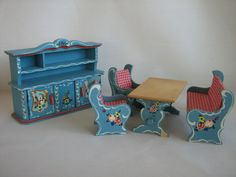 images of dora khun dolls house furniture - Google Search