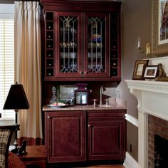 """""""As we express our gratitude, we must never forget that the highest appreciation is not to utter words, but to live by them.""""  – John Fitzgerald Kennedy  #waypointlivingspaces #kitchencabinets #CherryMerlot John Fitzgerald, Cherry Cabinets, Cabinet Doors, Gratitude, Liquor Cabinet, Appreciation, Living Spaces, Forget, Kitchen Cabinets"""