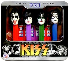 KISS Band PEZ Dispensers Limited Edition Tin, x.
