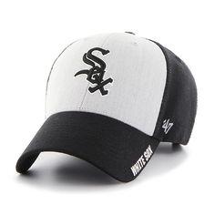 f096240e9c2 Chicago White Sox Umbra Closer Dark Charcoal 47 Brand Stretch Fit ...