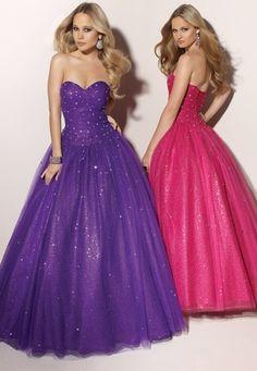 Deep Purple Cinderella Quinceanera Dresses  91038
